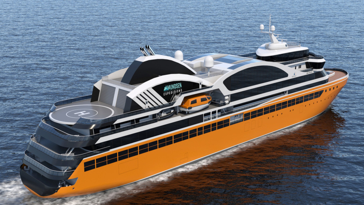 Wärtsilä to design luxury expedition ships for new Amundsen Expeditions cruise line