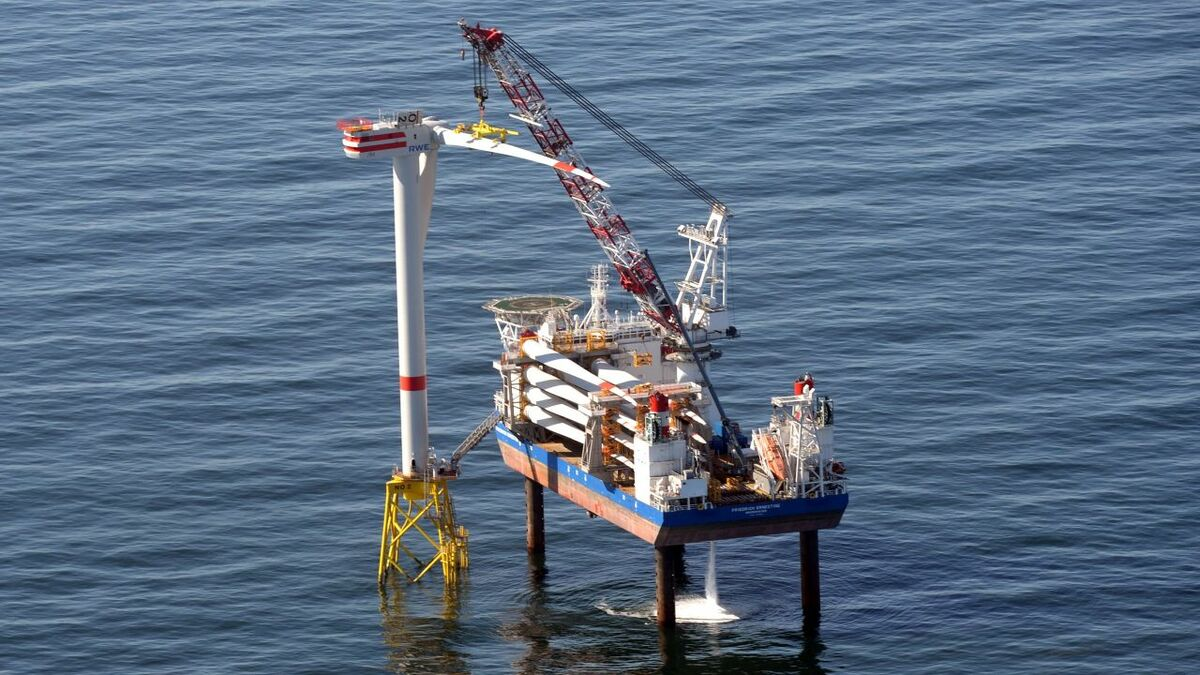 innogy's installation vessel will now work exclusively in the Asia Pacific market