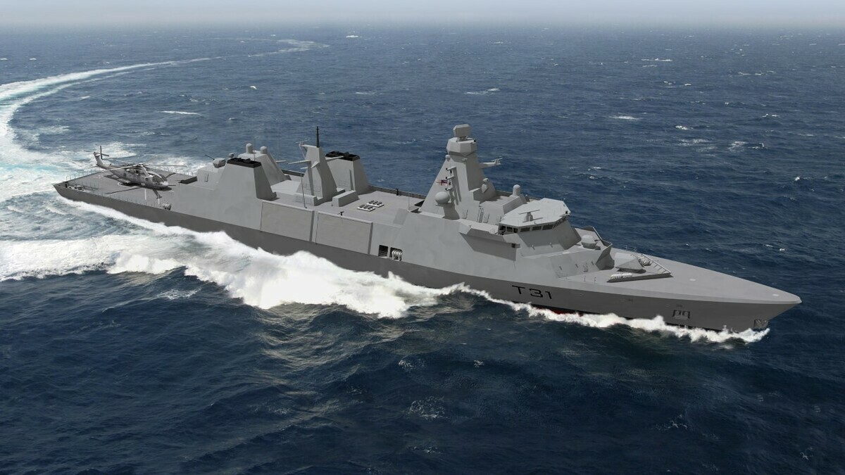 Babcock's Type 31 frigate design for the Royal Navy (credit: MAN Energy Solutions)