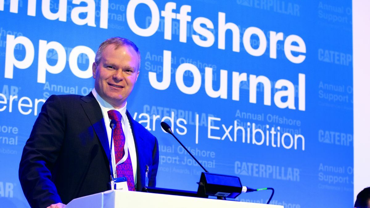 John Gellert (Seacor): Outlined some of the trends that will impact OSV sector operations in 2020