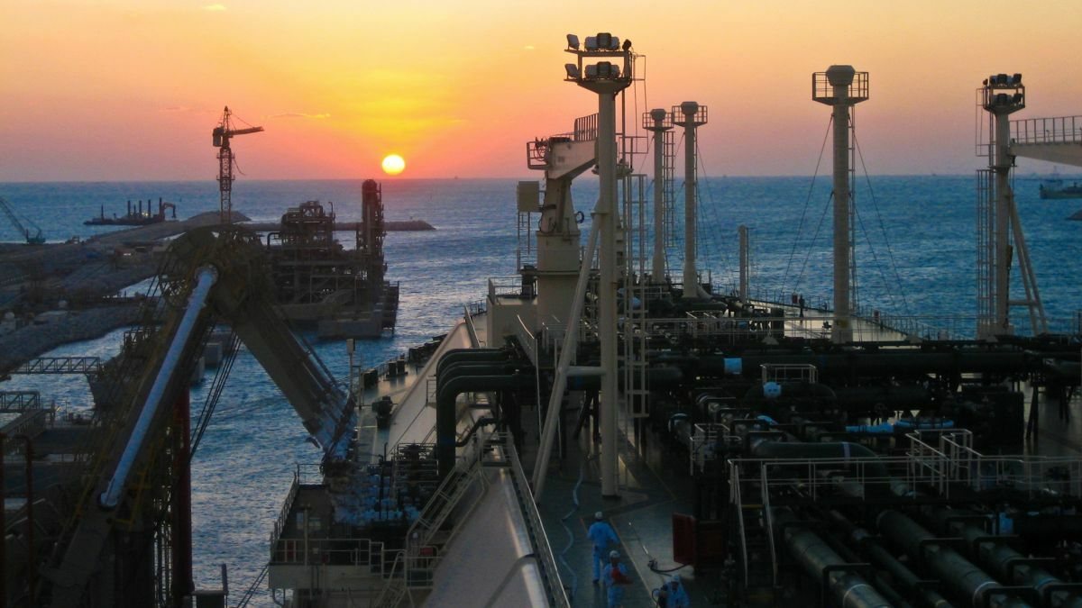 Al Marrouna is one of seven LNG carriers in Nakilat's fleet that it jointly owns with Teekay