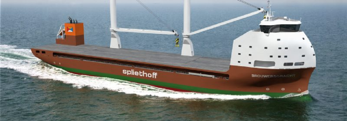 With 12,500 dwt, Spliethoff's B-Type MPVs will have a significantly higher intake than existing OSVs