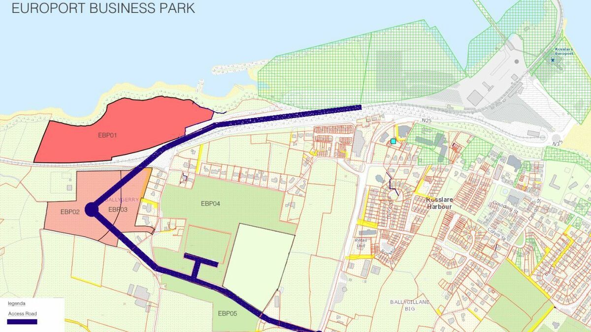 XELLZ has secured approximately 200,000 m2 of land at Port of Rosslare