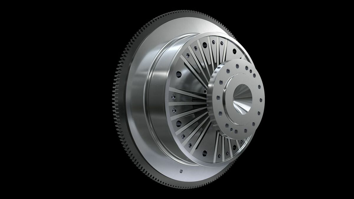 Figure 3 – The Geislinger steel spring coupling