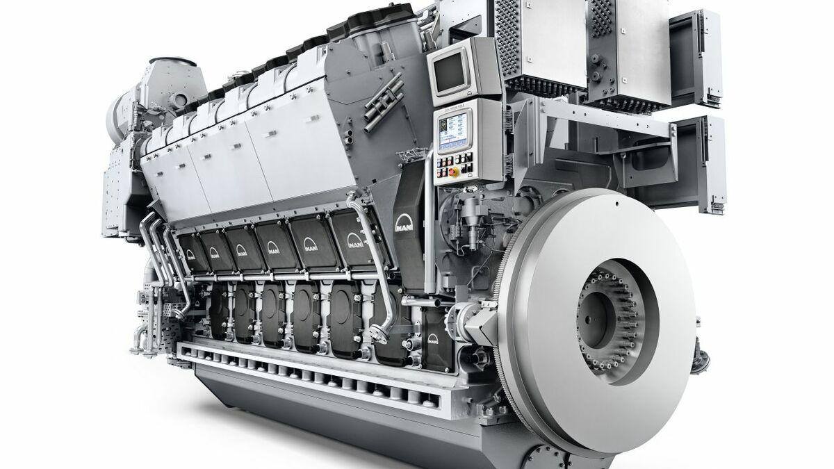 MAN's 12V32/44CR engine (credit: MAN Energy Solutions)