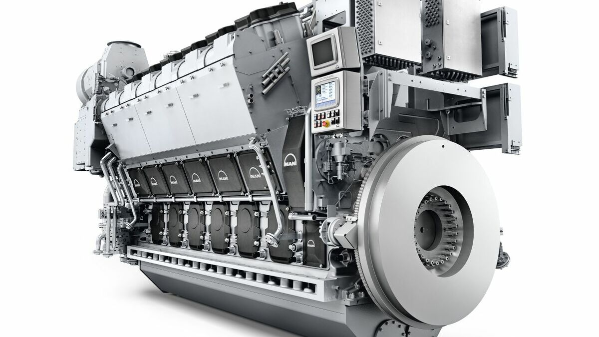 MAN receives six-engine order for offshore installation vessel