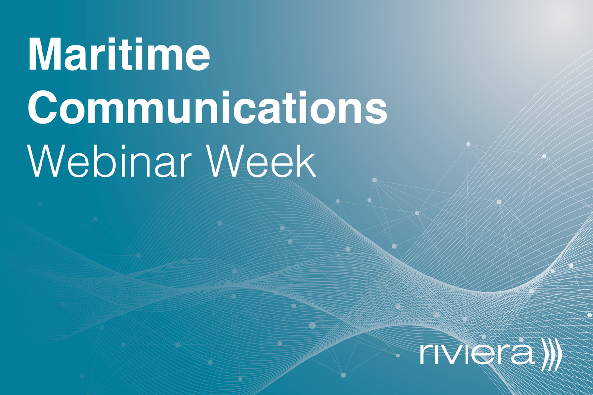 Maritime Communications Webinar Week