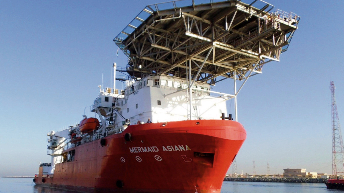 In 2019, Mermaid Subsea Services restructured the debt on both Mermaid Asiana and Mermaid Endurer