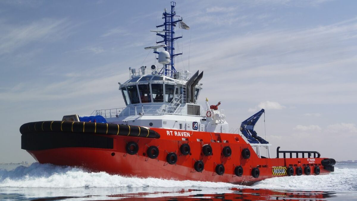 Kotug operates terminal tugs, including RT Raven