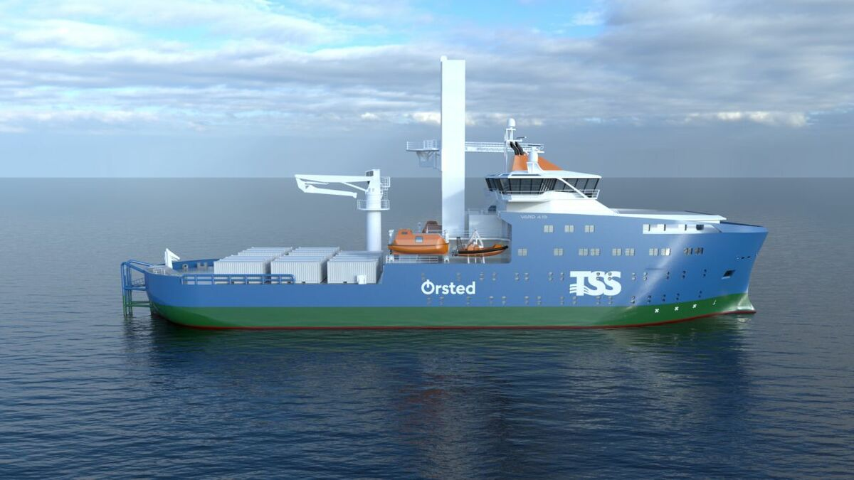 SMST will provide an access solution and crane for the Taiwanese SOV