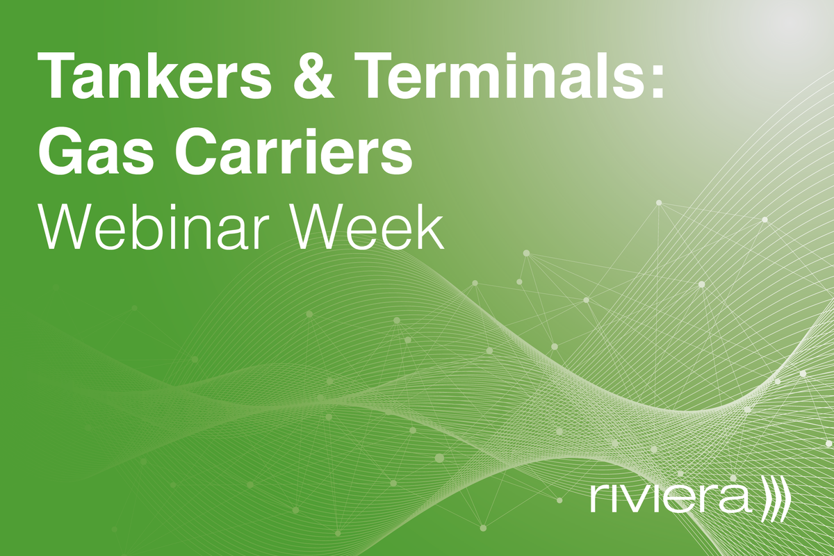 Tankers and Terminals: Gas Carriers Webinar Week