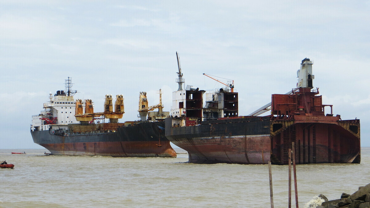 Ship set to be recycled (Credit: IMO)