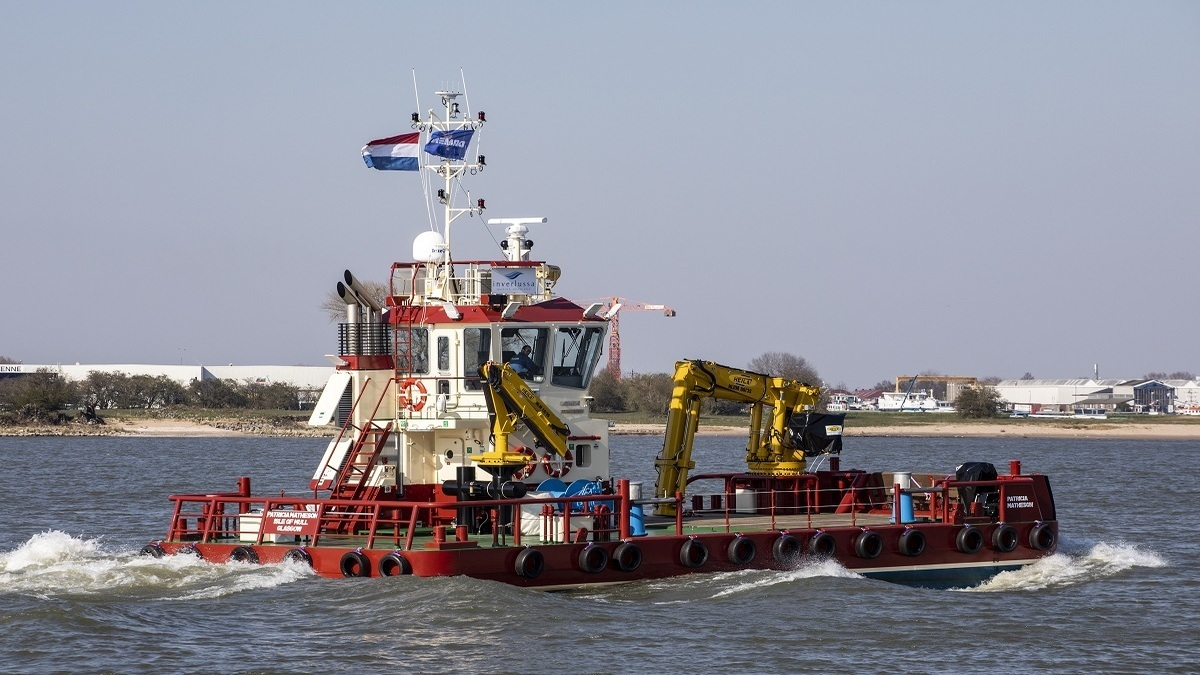 Damen delivers Multicat 1908 design with additional generator