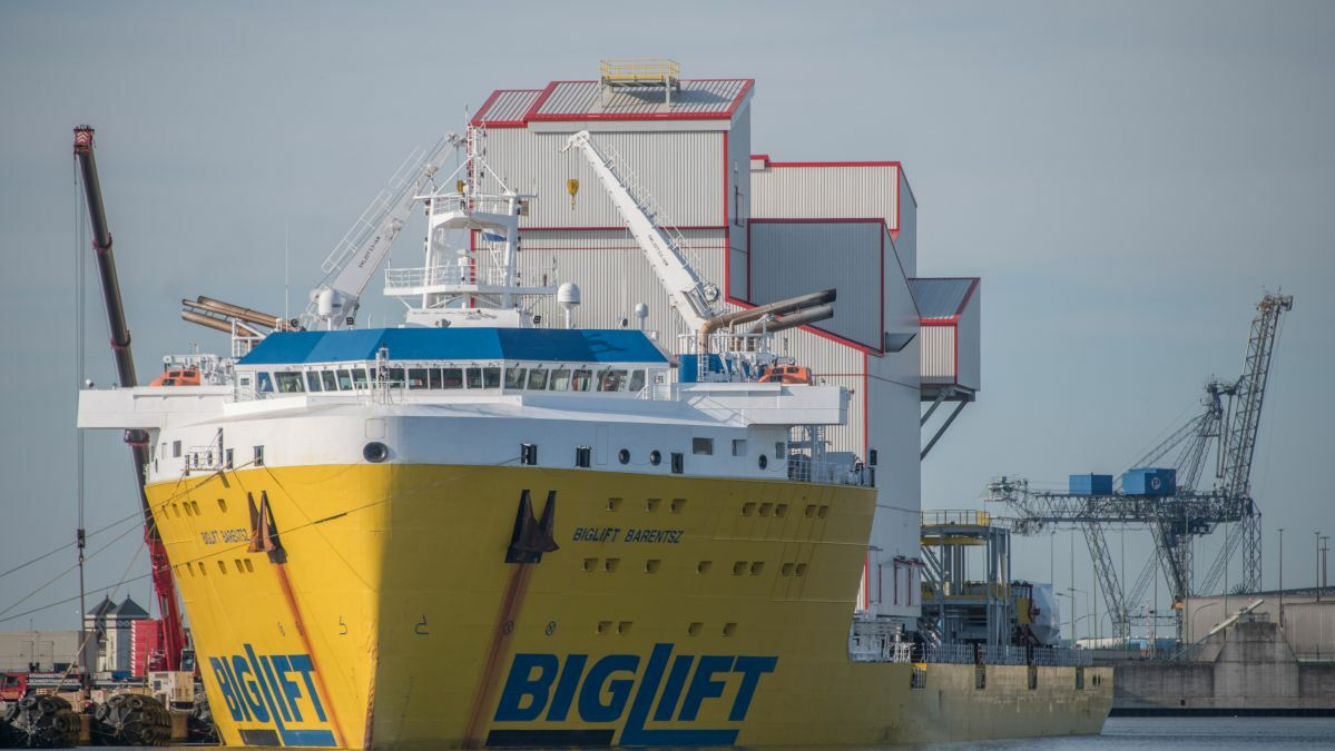 Module carrier BigLift Barentsz was one of the first vessels to feature Wärtsilä VGP-2013-compliant propulsion systems