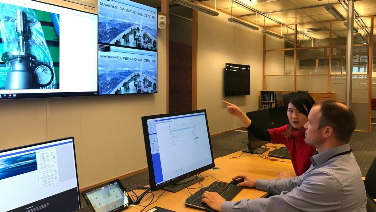 DNV GL provides remote inspections from its digitalisation centre