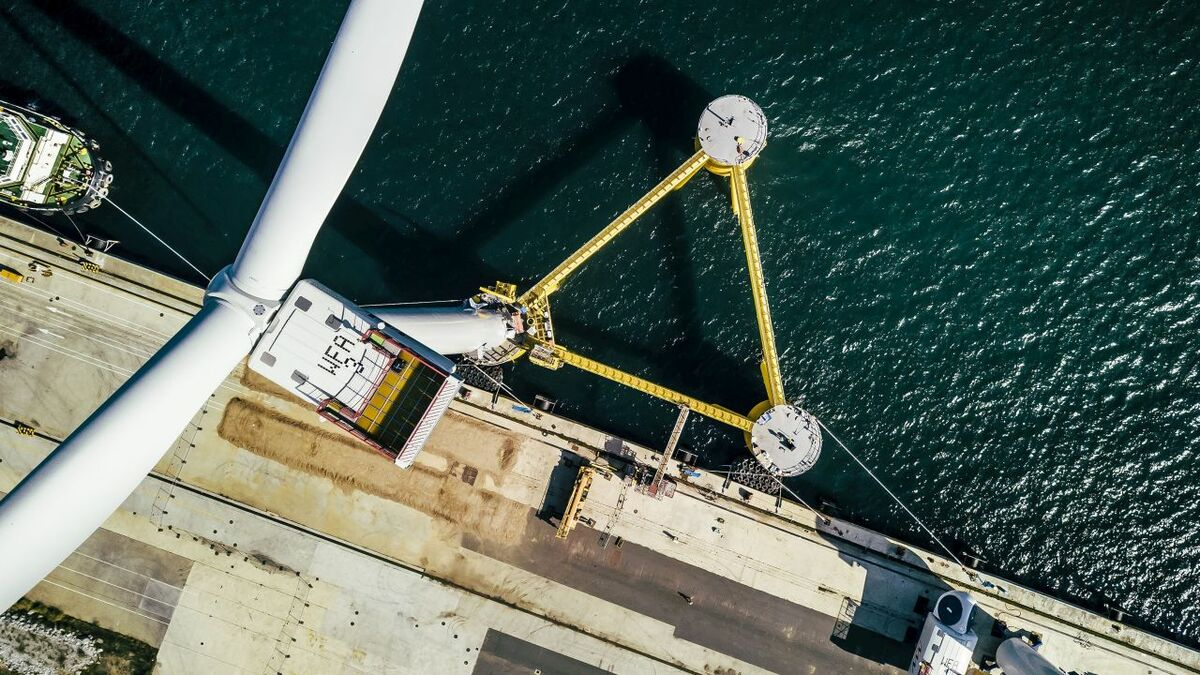 WindFloat Atlantic is one of a number of demonstrators to make use of MHI Vestas turbines
