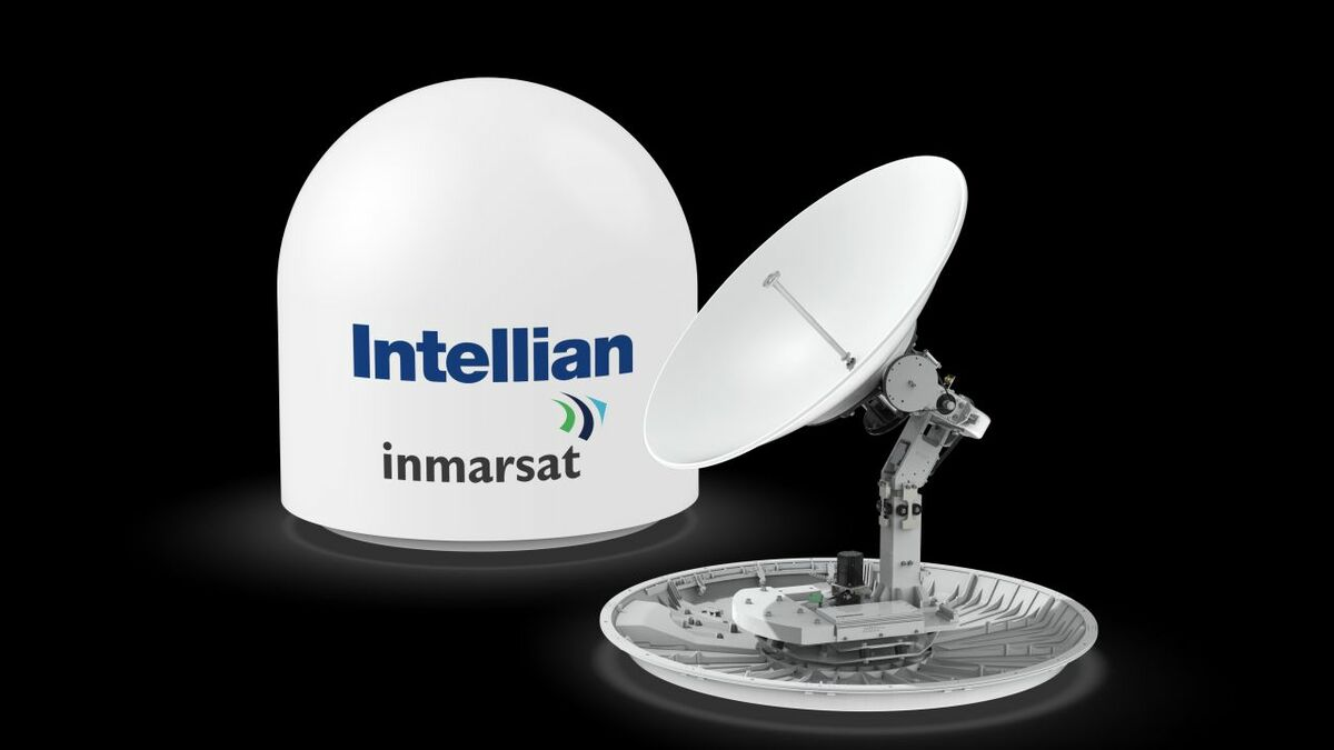 Intellian's GX100NX antennas will be installed on Crowley vessels for Fleet Xpress