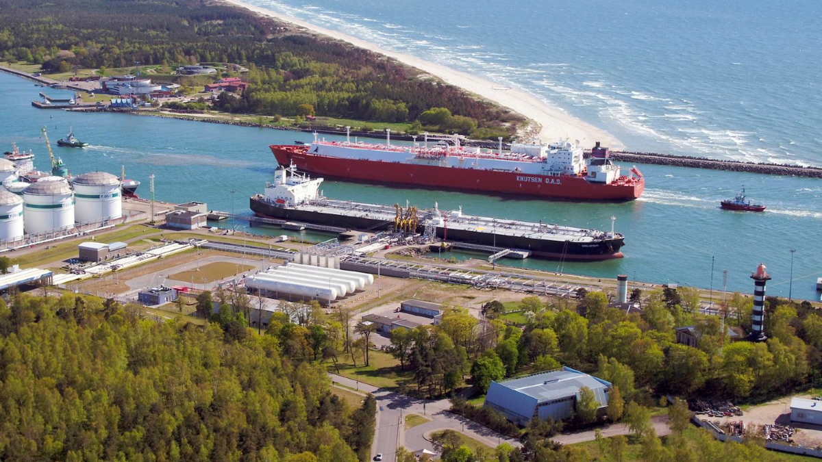 Sestao Knutsen brought the second US LNG cargo to Lithuania in this gas year