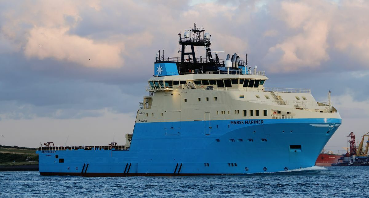 The AHTS Maersk Mariner supported Chevron's Gorgon Stage Two drilling programme