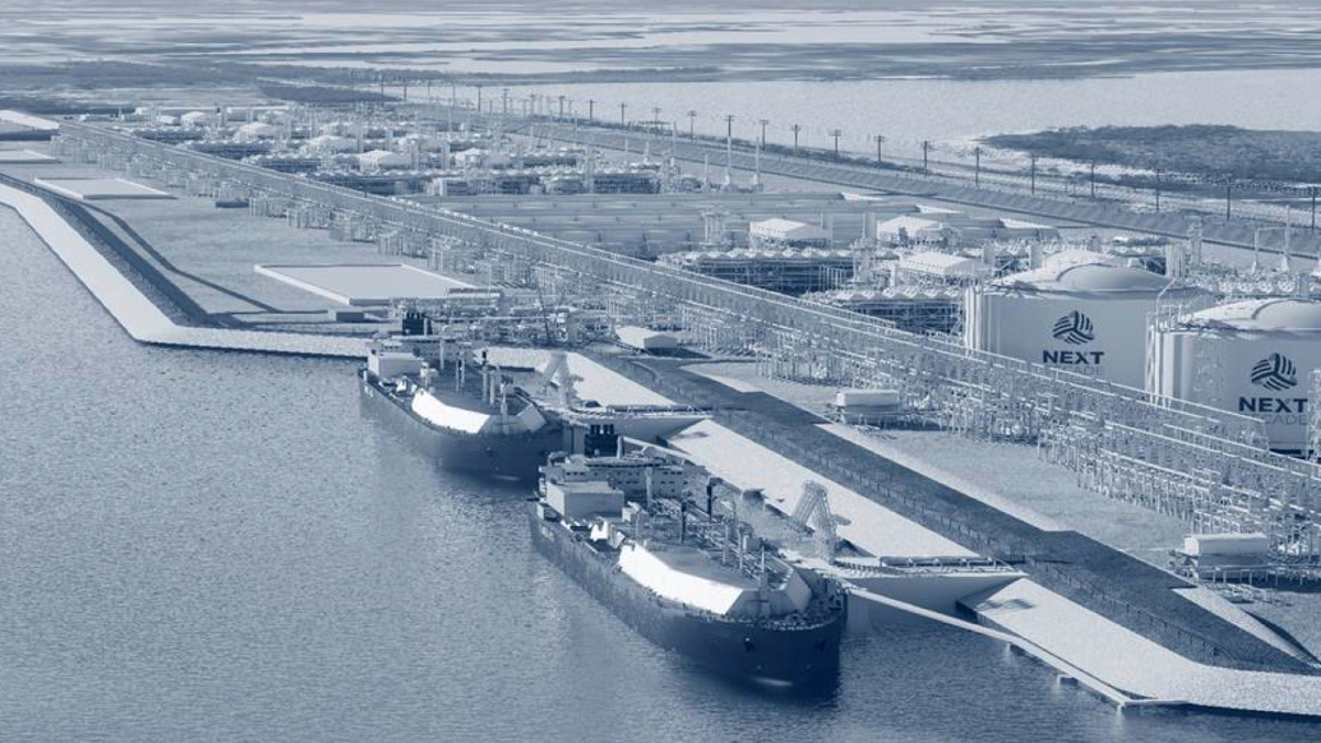 NextDecade's Rio Grande LNG would be one of the largest export facilities in the US (image:NextDecade)
