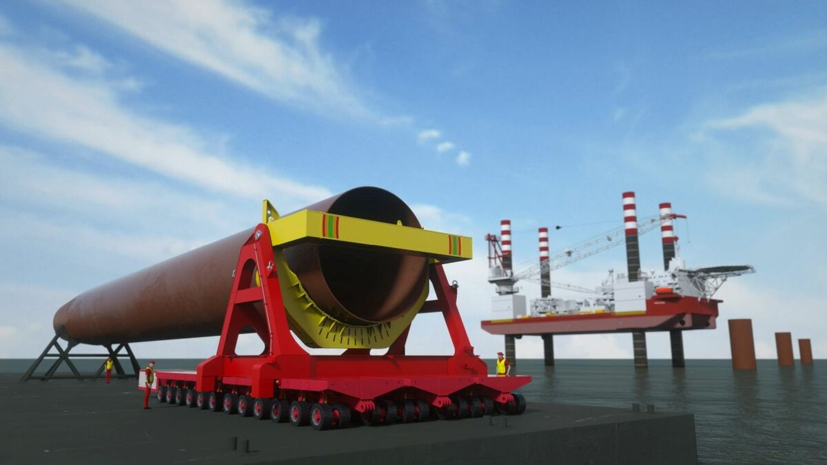 Osbit to deliver monopile upending tool for Seajacks