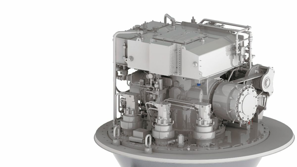 A Schottel sealing system on its SRP prevents mineral oil leakage into the seawater