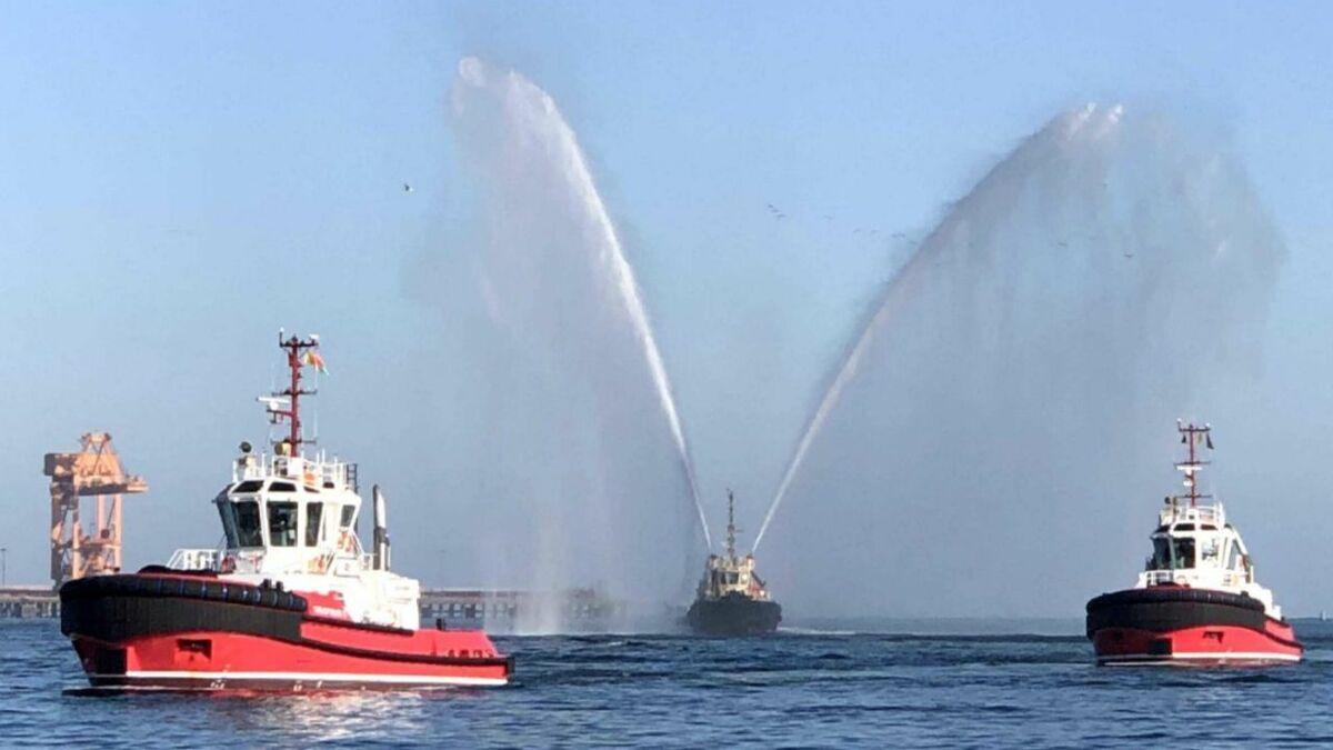 Sanmar built two tugs for Svitzer operations in Sohar, Oman