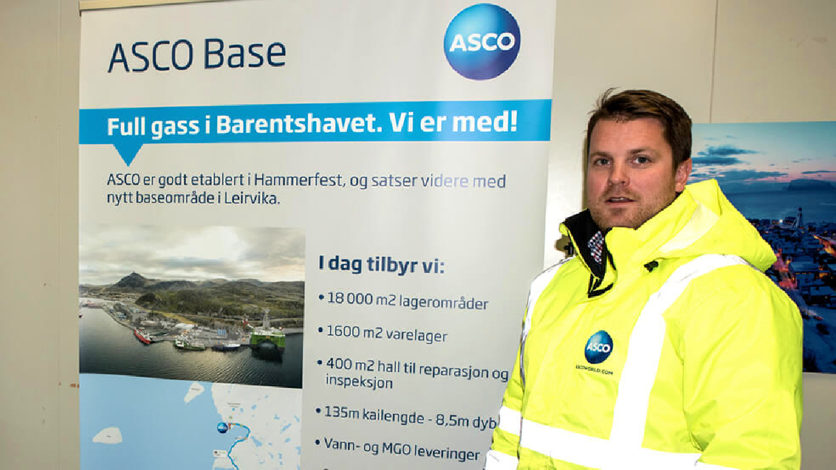 Tom Eirik Lysmen Jakobsen (ASCO): Digitalisation will provide significant benefits to customers and open up the use of the terminal to new industries