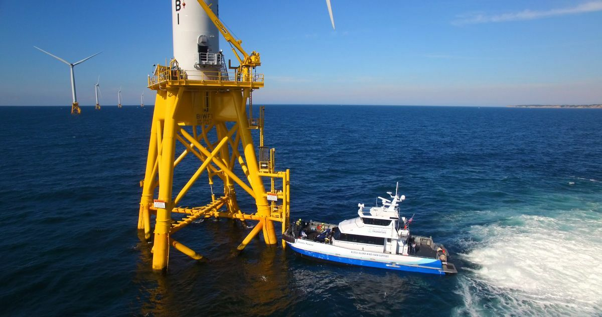 New generation wind turbines will have twice the capacity of those at Block Island Windfarm