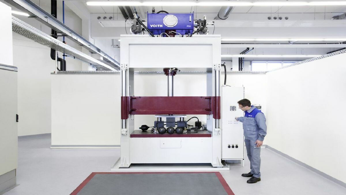 Voith and Moog's new joint venture will focus on R&D (image: Voith Group)