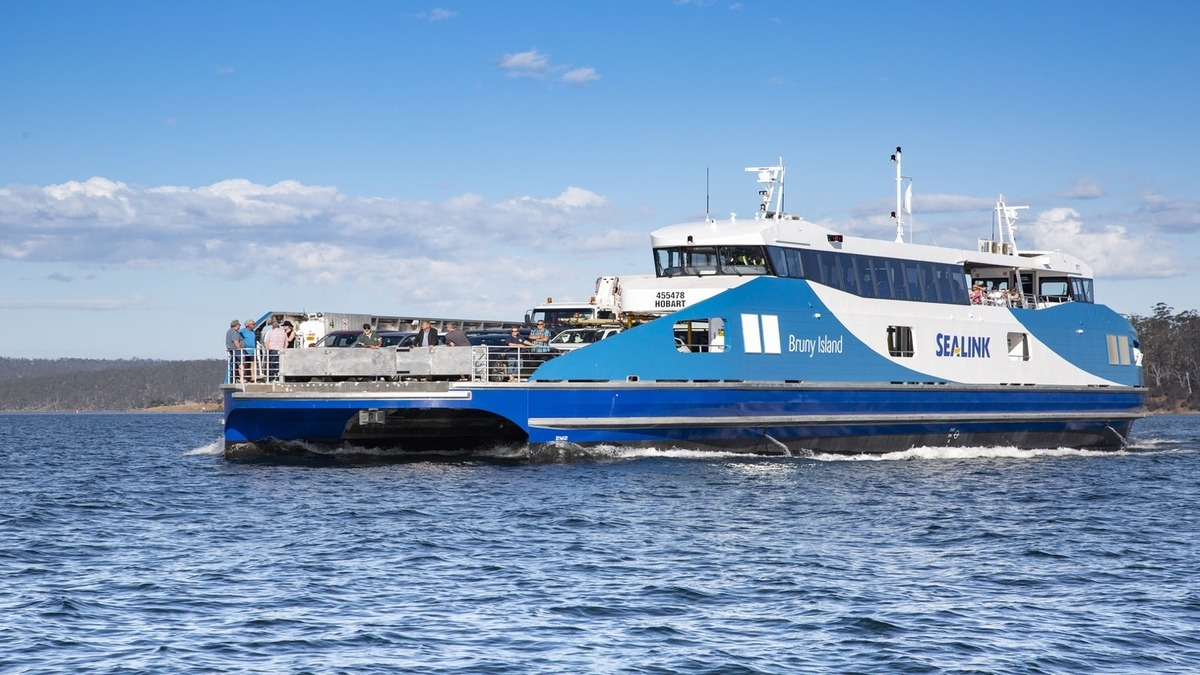 Nirana, an all-aluminium ferry features a Schottel propulsion system (Image: Schottel)