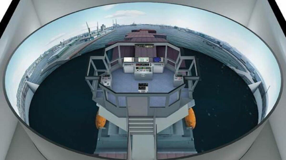 Wärtsilä's simulator will provide realistic training for pilots at Le Havre pilot station (Copyright: Wärtsilä)