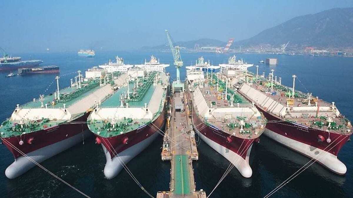 WE Tech said its propulsion system will help the LNG carriers become more energy efficient (Image: Shell/WE Tech)