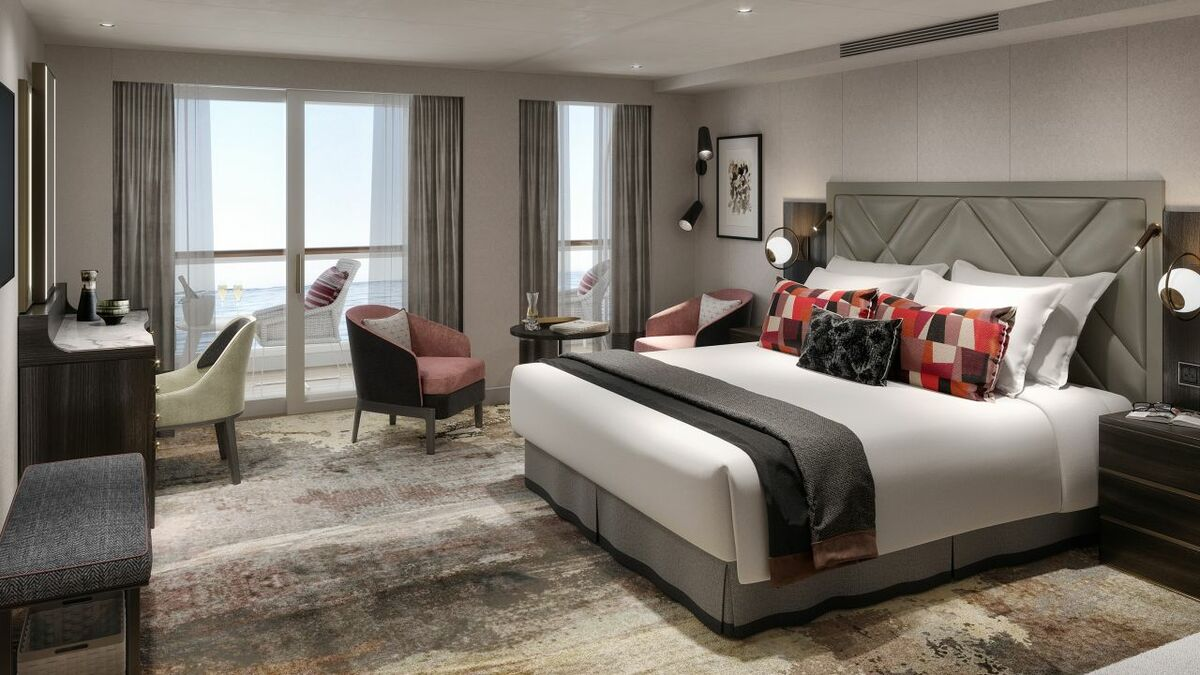 Saga Cruises' Spirit-class duo: different design interpretations