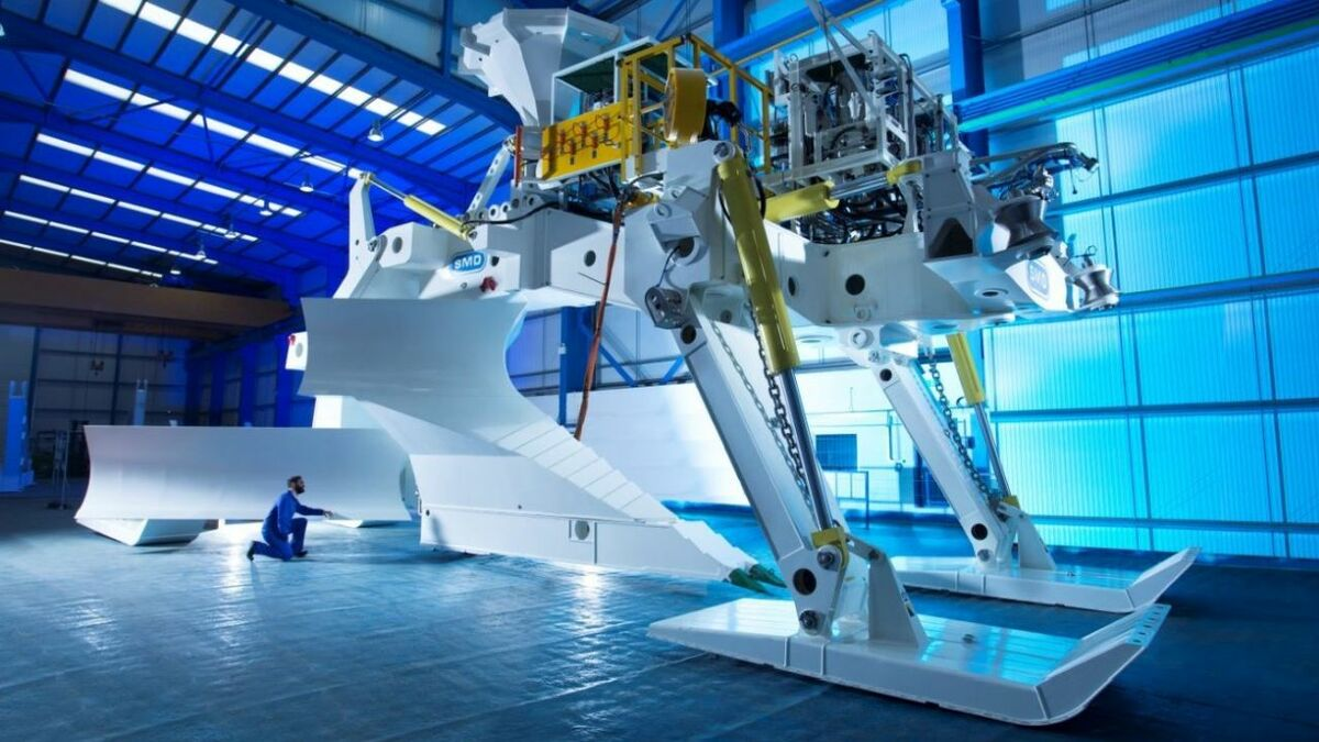 The Megalodon will be deployed form Boskalis' offshore vessel, Boka Falcon