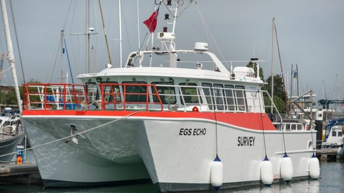 EGS Echo1 has a full suite of survey equipment and will start work on an offshore wind project