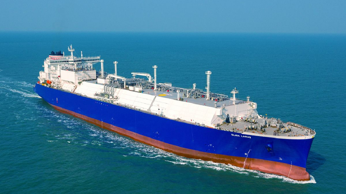 Elisa Laurus is the first LNG carrier with BV's cyber security notation