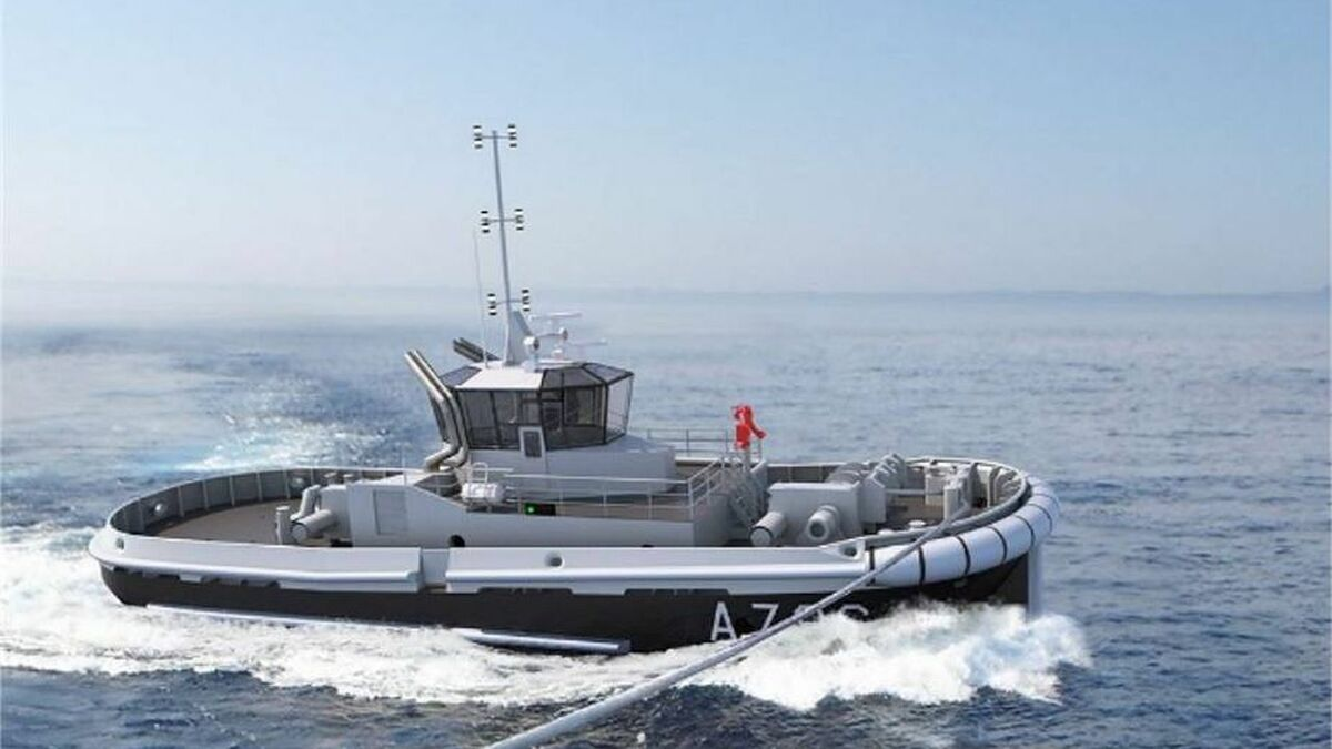 RP30 port tugs ordered for French Navy (source: Piriou)