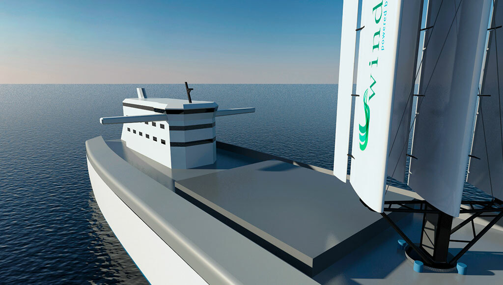 Wind-assisted propulsion can cut fuel costs and emissions
