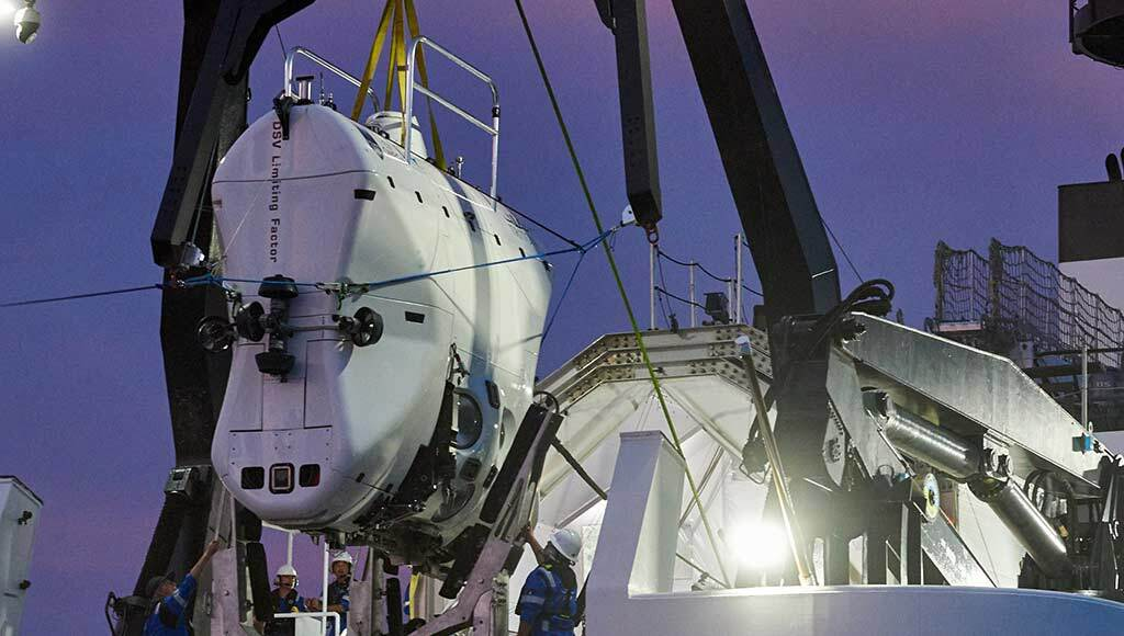 The world's deepest-diving operational submersible