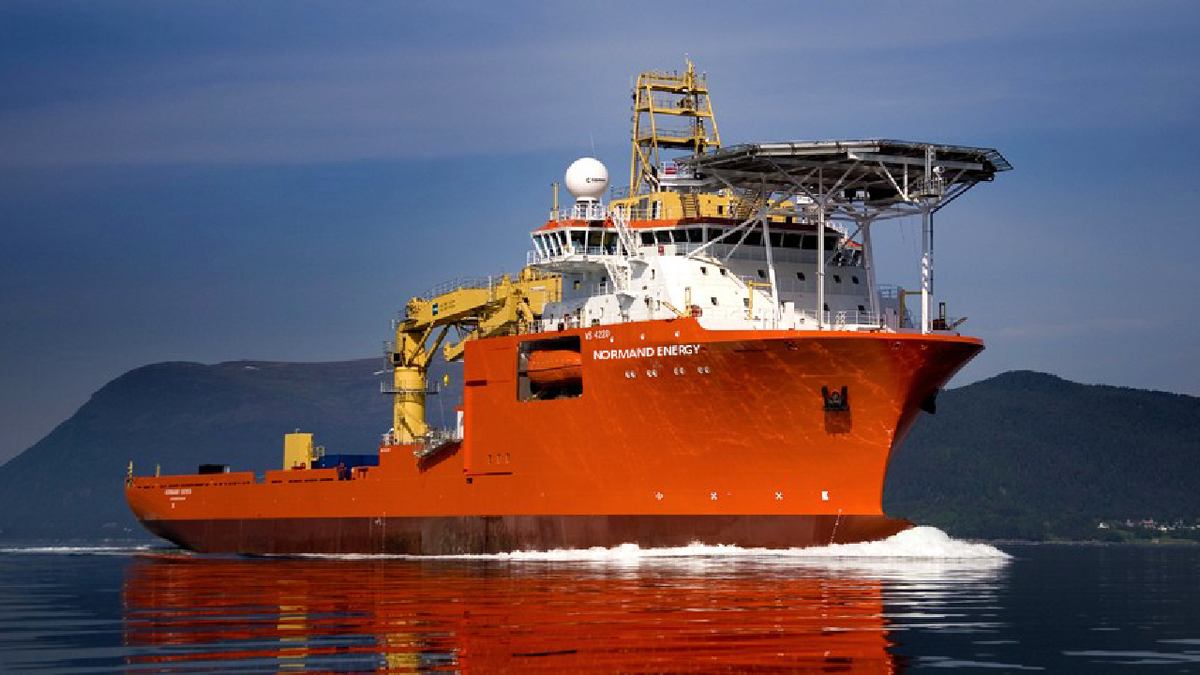 Being mobilised from a European port, Normand Energy will be under charter for four to six months
