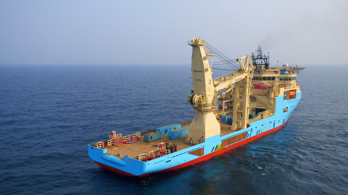 One of Maersk Supply Service's I-class vessels will remove four 30-inch, jacket-mounted drilling conductors