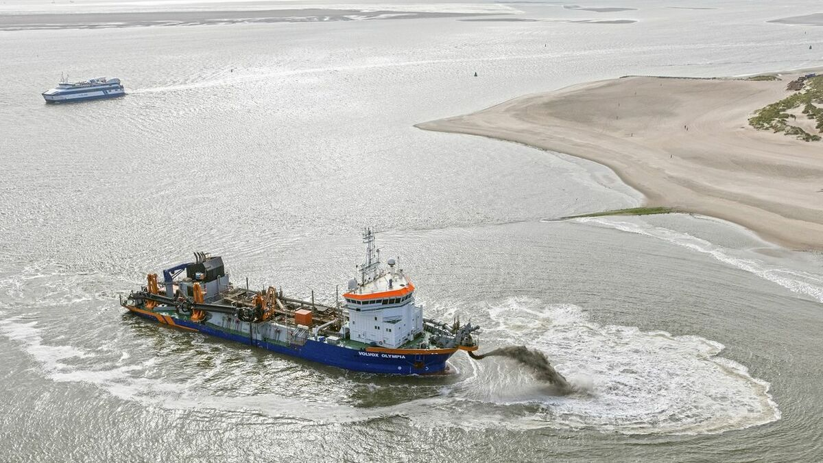 Van Oord uses digital technology to enhance its dredging operations for clients