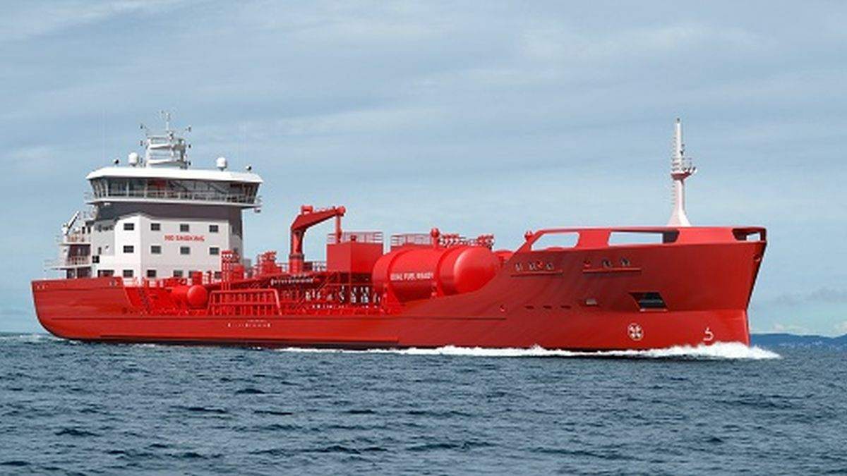 Utkilen's new chemical tanker offers zero-emissions loading capacity