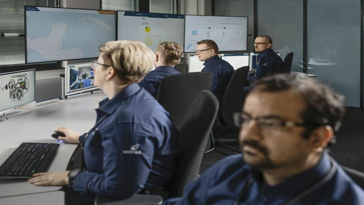 Wärtsilä's data-driven DMP solution utilises digital technology and human analysis to maximise uptime (Image: Wartsila)