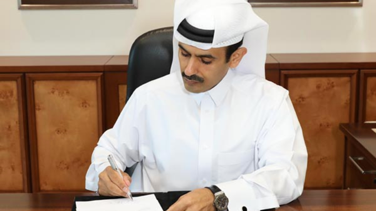 Saad Sherida Al-Kaabi (QP): The signings reflect commitments to the North Field expansion projects, even during these extraordinary times