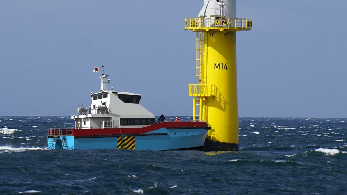 The Akita and Noshiro crew transfer vessel is BMT's first in the Japanese market