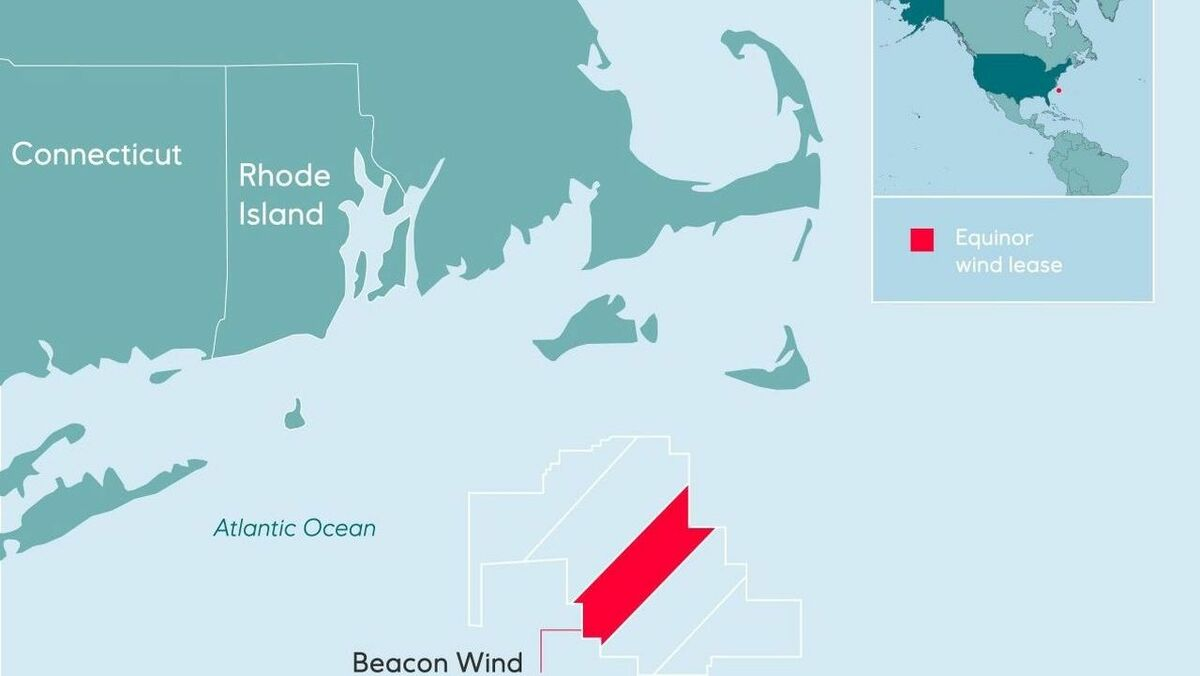 The Beacon Wind project will provide power to more than a million homes in the US northeast