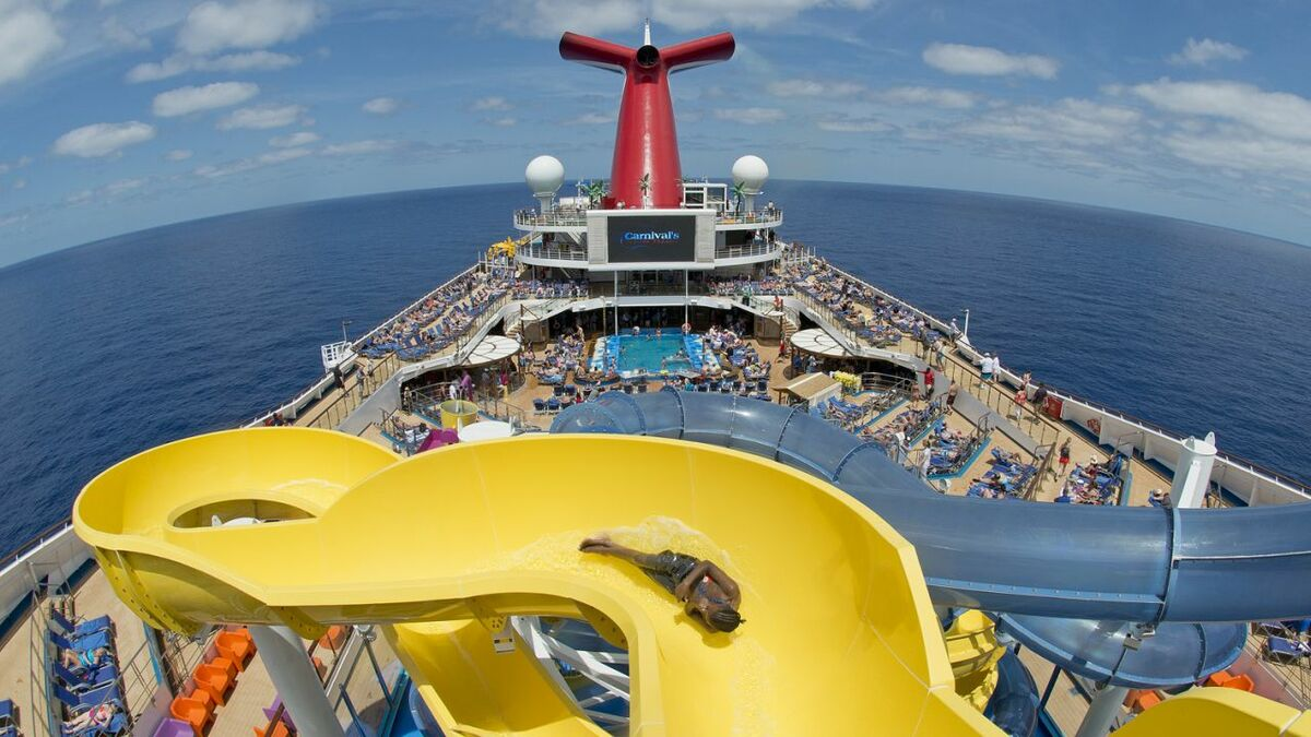Carnival Sunrise includes exciting new top-deck attractions, including a massive water park (credit: Andy Newman)