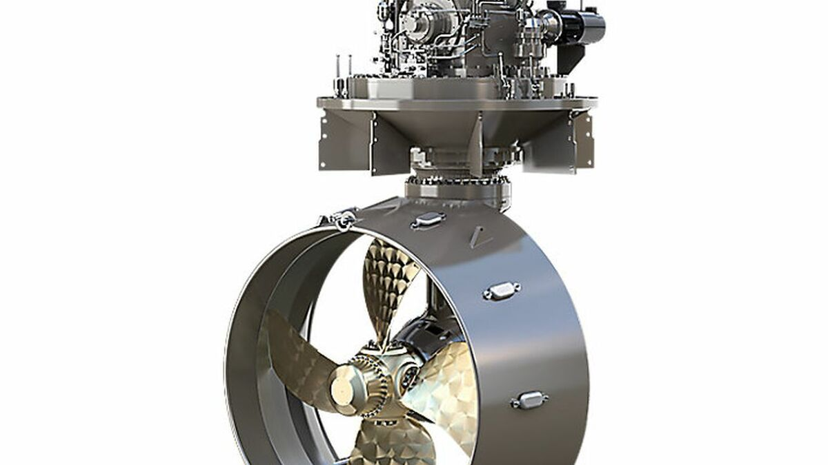 Caterpillar Propulsion manufactures marine azimuth thrusters for manoeuvring and positioning